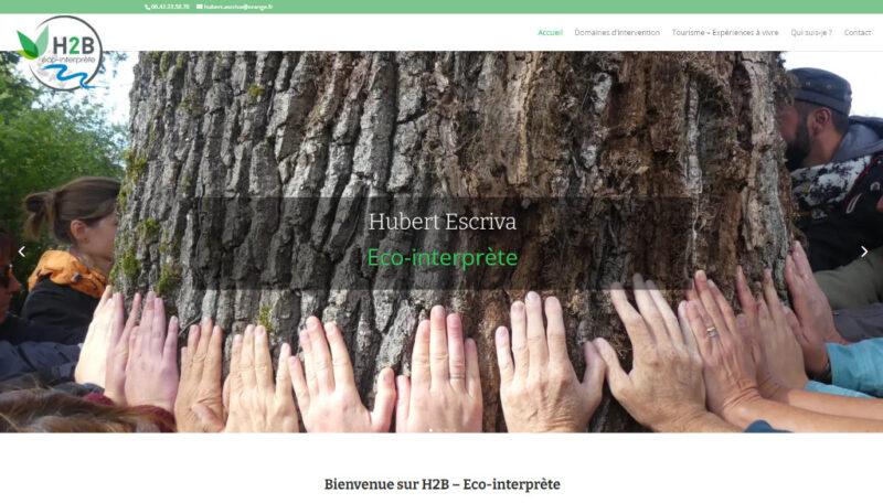 site vitrine, éco-interprète