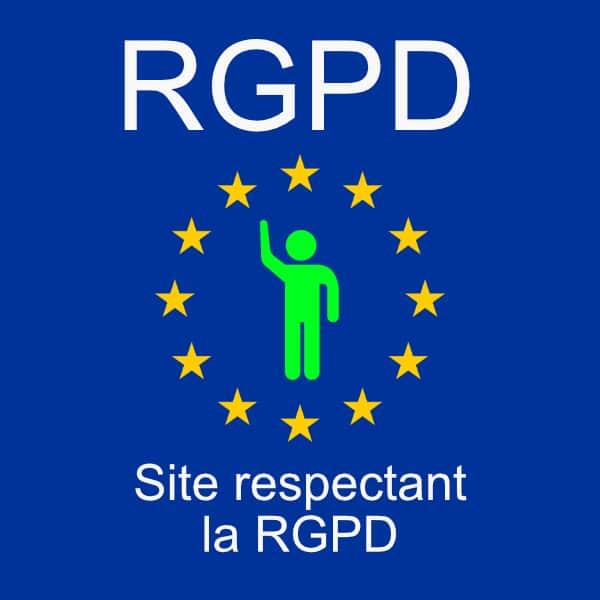 Site internet conforme à la RGPD